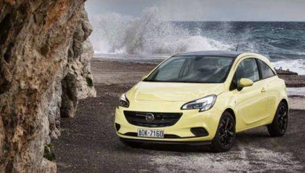 Opel Corsa 2015 test drive Santorini Island