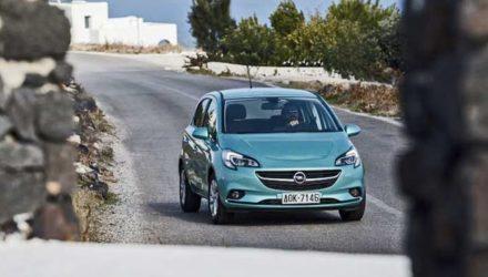 Opel Corsa 2015 Santorini Island